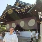 いつもと違う靖国神社