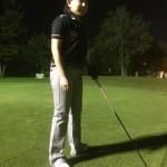 二度目のゴルフでした