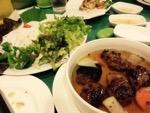 ベトナム料理で乾杯
