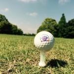 ゴルフボールをいただきました!