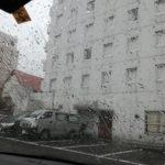 雨すげえよ盛岡市内