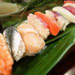 大衆価格の寿司ランチ